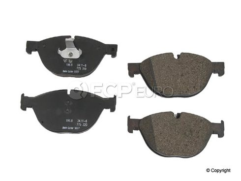 BMW Brake Pad Set Front  - Genuine BMW 34116851269