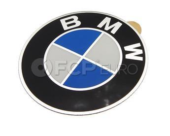 BMW Wheel Cap Emblem 58mm (E30 E36) - Genuine BMW 36131181081