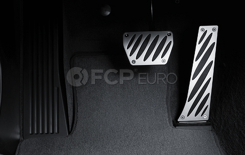 BMW Performance Aluminum Pedal Set - Genuine BMW 35002213212