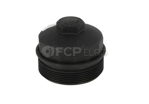 BMW Engine Oil Filter Housing Cap - Genuine BMW 11421736674