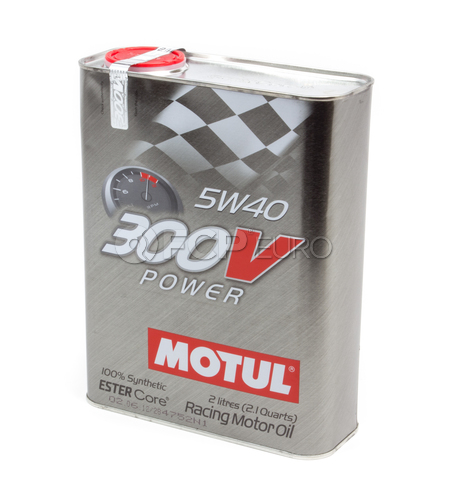 Motul 300V Power 5W40 (2 Liter) - 103132