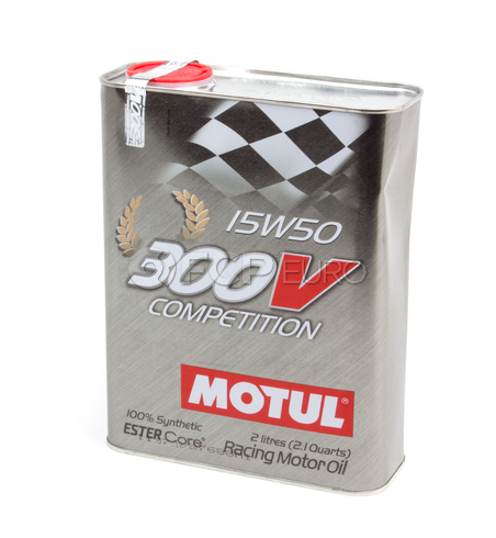 Motul 300V Competition 15W50 (2 Liter) - 103138