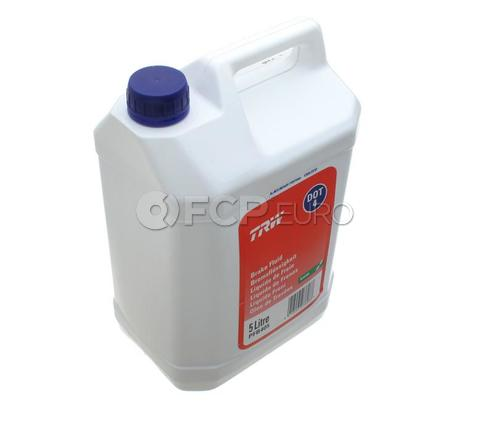 TRW DOT4 Synthetic Brake Fluid (5 Liter) - GBF4005