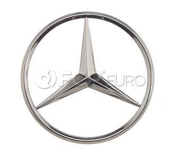 Mercedes Trunk Lid Star Emblem - Genuine Mercedes 2027580058