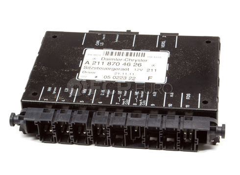 Mercedes Power Seat Control Module - OEM Supplier 2118704626
