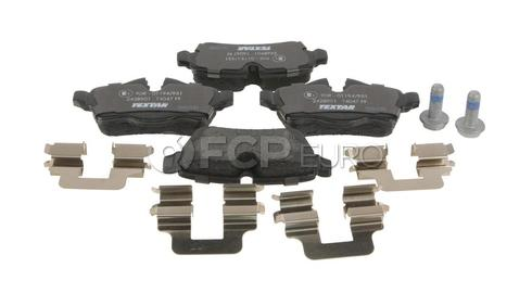 Mini Brake Pad Set Rear - Textar D81309T