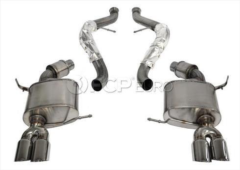 BMW Polished Axleback Exhaust (E92 E93 M3) - Corsa 14568