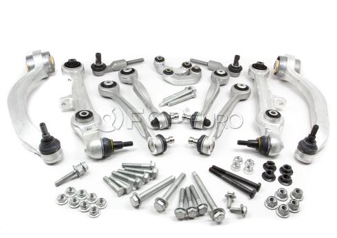 Audi VW Control Arm Kit  Front 12-Piece (S4 A6 A4 Passat) - Lemforder 4D0498998M