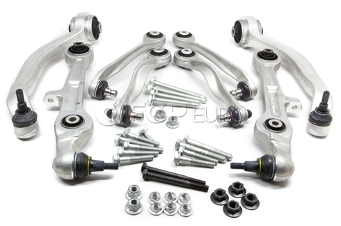 Audi Control Arm Kit Front Lower & Uppers (A4 A4 Quattro) - Lemforder B7OPTION3KIT