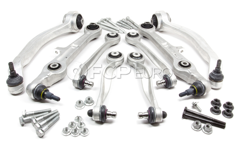 Audi Control Arm Kit 8-Piece - Lemforder S4RS4CAKIT