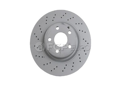 Mercedes Brake Disc Front (CL S-Class) - Zimmermann 2204212512A