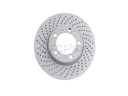 Porsche Brake Disc (Boxster 911 Cayman) - Zimmermann 99635140501