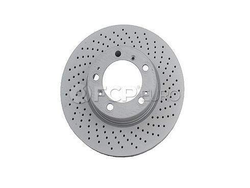 Porsche Brake Disc (Boxster 911 Cayman) - Zimmermann 99635140601