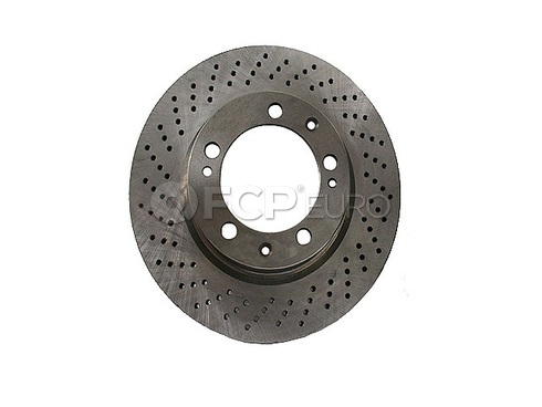 Porsche Brake Disc Rotor (928 944) - Zimmermann 92835104360