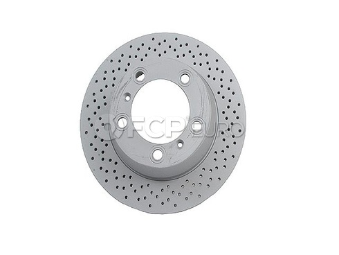 Porsche Brake Disc (Boxster Cayman) - Zimmermann 98735240101