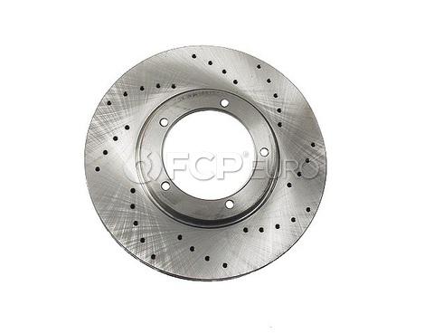 Porsche Brake Disc (924 944 914 911) - Zimmermann Sport 91135104120