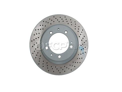 Porsche Brake Disc Front Right (911) - Sebro 96535104400