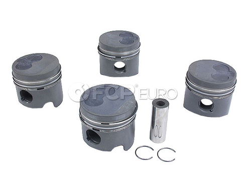 VW Piston w/Rings (Quantum) - Kolbenschmidt 270642