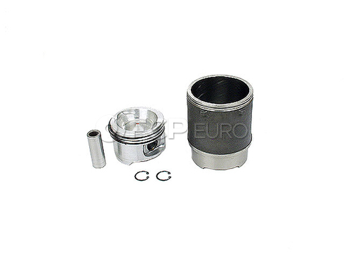 VW Piston w/Rings (Vanagon Transporter) - Mahle 0297490