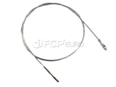 VW Clutch Cable (Beetle Karmann Ghia Super Beetle) - Gemo 430260
