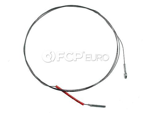 VW Accelerator Cable (Beetle Karmann Ghia) - Gemo 430540