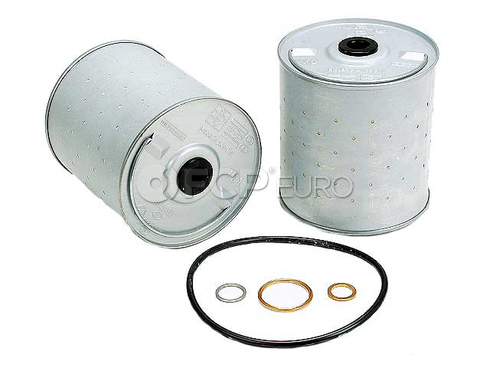 Mercedes Engine Oil Filter Kit (240D 300D 220D) - Mahle 0001800209