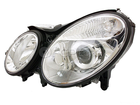 Mercedes Bi-Xenon Headlight Assembly (E500 E320 E55 AMG E350) - Hella 2118201761