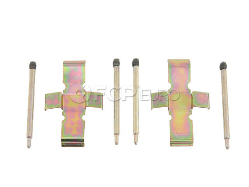 BMW Disc Brake Hardware Kit Front - OP Parts 61206004