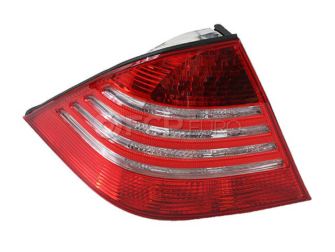 Mercedes Tail Light Lens Left (S350 S430 S500 S600) - ULO 2208201966