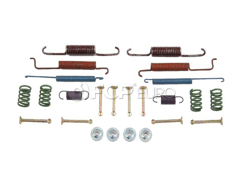 VW Drum Brake Hardware Kit OP Parts - 61254007