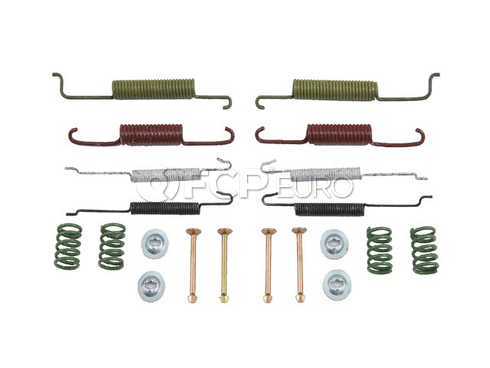VW Drum Brake Hardware Kit (Golf Jetta Cabrio) - OP Parts 61254010