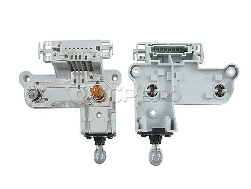 Mercedes Tail Light Bulb Carrier Left (S400 S550 S65 AMG)- Genuine Mercedes 2218200177