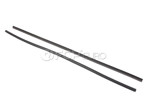 """Mercedes Volvo Wiper Blade 22"""" Refill Set - Bosch 3391014391"""