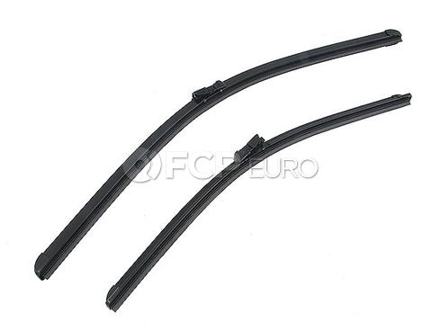 VW Windshield Wiper Blade Set (Golf Jetta Passat) - Bosch 3C1955426B