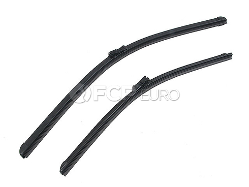 Audi VW Windshield Wiper Blade Set - Bosch 3C1998002