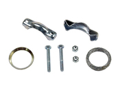 VW Exhaust Tail Pipe Mounting Kit (Beetle Karmann Ghia Super Beetle Transporter) - H J Schulte 111298051
