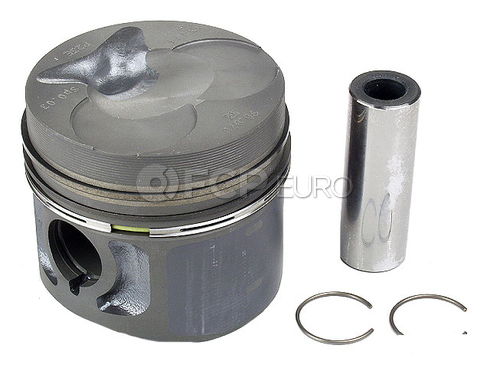Mercedes Piston w/Rings (240D 300CD 300D 300TD) - Kolbenschmidt 6160306417