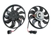 VW Audi Cooling Fan Motor - Bosch 0130706202