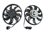 VW Audi Cooling Fan Motor (Touareg Q7) - Bosch 0130706202