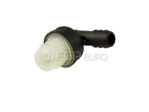 BMW Engine Crankcase Breather Hose Connector (850Ci 850CSi 850i 750iL) - Genuine BMW 11151720131