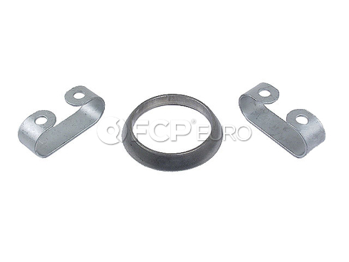 VW Exhaust Pipe Spring Clip and Gasket Kit -