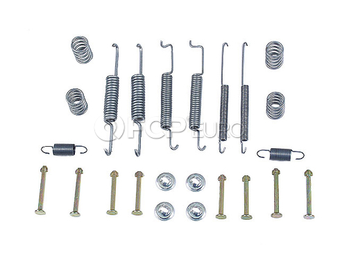 VW Drum Brake Hardware Kit Rear - ATE 171698545