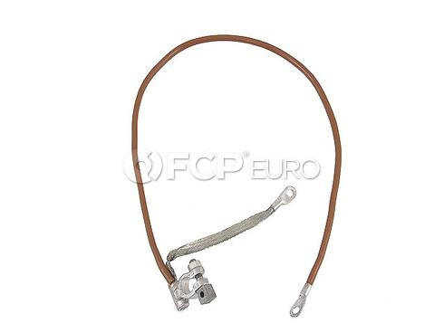 BMW Battery Cable Negative (E12 E23 E24) - Genuine BMW 12421286746