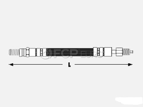 Saab Brake Hose Front (900) - Meyle 8940819