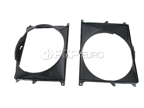 BMW Engine Cooling Fan Shroud (525i) - Genuine BMW 17111712373