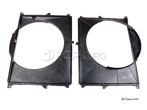 BMW Engine Cooling Fan Shroud (735i 735iL) - Genuine BMW 17111723327