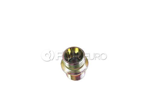 BMW Engine Oil Line Fitting - Genuine BMW 17221707533