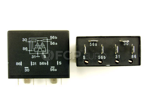 Saab Headlight Relay (900 9000) - KAE 9553546