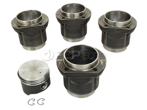 VW Piston Set - Mahle 31119806990