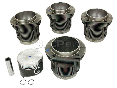 VW Piston Set - Mahle 31119806992